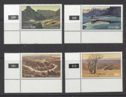 "SOUTH WEST AFRICA...QUEEN ELIZABETH II.,.(1952-NOW.).."" 1981.""....FISHING RIVERS......MARGINAL SET OF 4.....MNH. - Vissen"