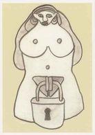 Cpm 1741/1989 ERGON - Cadenas - Nu Féminin - Érotique - Érotisme - Artiste Peintre - Illustrateur - Ergon