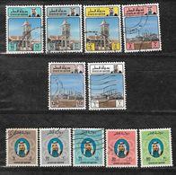 Qatar 1982 Definitive Issue,Série Courante, Sultano, Raffineria, Petrolio, Oil.Very Fine Used - Qatar