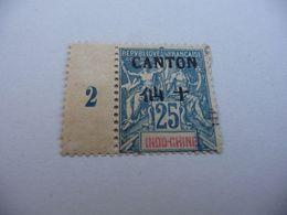 TIMBRE  CANTON   N  25      COTE  8,50  EUROS    NEUF  TRACE  CHARNIÈRE - Kanton  (1901-1922)