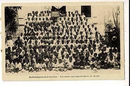 55906 - DE PHILIPPIJNEN EN DE ANTILLEN - EEN SCHOOL VOOR NEGERKINDEREN ( H. KRUIS ) - Missie