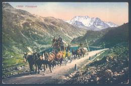 GR Grisons DAVOS Fluelapost - GR Graubünden