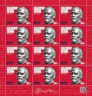 Russia, 2020, V.I.Lenin  Sheet Of 12 - Full Sheets