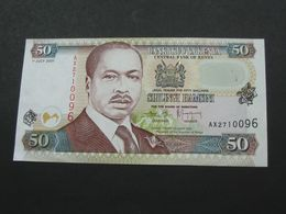 50 Shilingi Hamsini 2001 - Central Bank Of Kenya  **** EN ACHAT IMMEDIAT **** - Kenia