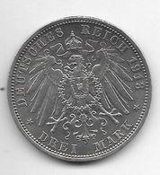 *prussia 3 Mark 1913  Km 535 Xf !! Look !!!!! - [ 1] …-1871 : Etats Allemands