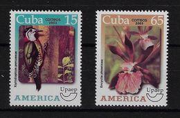 CUBA 2003. UPAEP. AMÉRICA. FLORA Y FAUNA. MNH. EDIFIL 4699/00 - Nuevos
