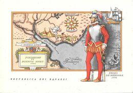 Pedro De Mendoza. Repubblica Dei Ragazzi. Non Viaggiata - Ansichtskarten