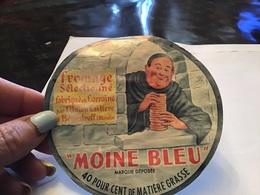 Fromage Fabriqué En Lorraine Par L'union Laitière De Benestroff Moselle Moine Bleu - Fromage