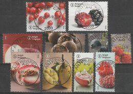 4539/4548 Les Fruits Oubliés/vergeten Fruitsoorten Oblit/gestp Centrale - Used Stamps