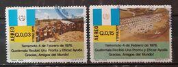 GUATEMALA 1976 Airmail - Earthquake Of 4 February 1976. USADO - USED. - Guatemala