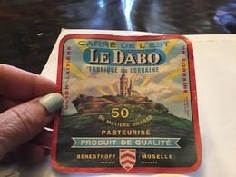 Carrée De L Est Le Dabo C'est Qui Est En Lorraine Union Laitière De Lorraine Benestroff - Fromage