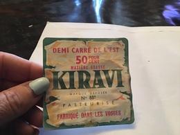 Demi Carré De L Est Kiravi Fabriqué Dans Les Vosges - Fromage