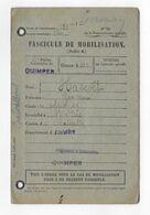 FASCICULE MOBILISATION HASCOET YVES MARIE NE 1875 SOLDAT SERVICE AUXILIAIRE VARIOLE 6 19 87 118 RI ... - Documents