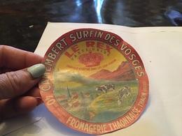 Camembert Surfin Des Vosges Fromagerie Thaonnaise Le Rex - Fromage