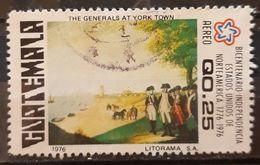 GUATEMALA 1976 1976 Airmail - The 200th Anniversary Of American Revolution. USADO - USED. - Guatemala