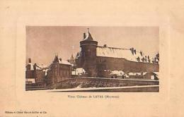 Laval   479        Vieux Château De Laval ( Neige ? ) - Laval