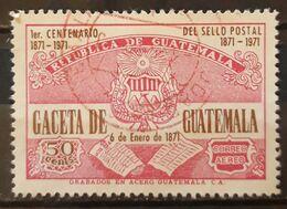 GUATEMALA 1976 1976 Gaceta De Guatemala. USADO - USED. - Guatemala