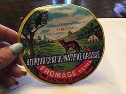 Fromage Extra Fabriqué En Lorraine Corbeau Et Le Renard - Fromage