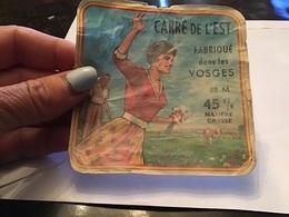 Carrée De Lest Fabriqué Dans Les Vosges - Fromage
