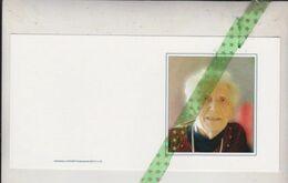 Elza Baguet-Verbeurgt-Vandemenschbrugge, Nederbrakel 1926, Elst 2015 - Overlijden