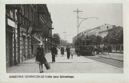 DABROWA  GORNICZA  UI  K ROLA JANA SOBIESKIEGO    CARTE PHOTO - Polen