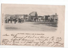 Spanje Spain Espana - La Coruna Relleno Y Calle De Linares Rivas - 1900 - Sin Clasificación