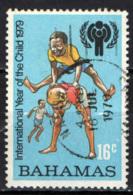 BAHAMAS - 1979 - ANNO INTERNAZIONALE DEL FANCIULLO - EMBLEMA - USATO - Bahamas (1973-...)