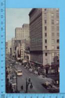 Postcard - Quebec - Montreal St-Catherine Street - Canada - Montreal