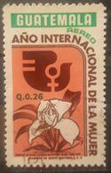 GUATEMALA 1976 1975 1975 Airmail - International Women's Year. USADO - USED. - Guatemala