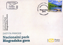 2020 FDC, Nature Protection, Biogradska Gora National Park, Montenegro, MNH - Montenegro