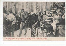 Spanje Spain Espana - Valencia - El TIpico Tribunal De Las Aguas A La Puerta De La Catedral - 1927 - Sin Clasificación