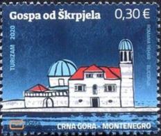2020 Tourism, Gospa Od Škrpjela, Montenegro, MNH - Montenegro