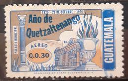 GUATEMALA 1977 Airmail - The 150th Anniversary Of Founding Of Quetzaltenango. USADO - USED. - Guatemala