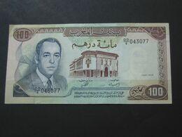100 Dirhams 1970-1390 Maroc - Banque Du Maroc   **** EN ACHAT IMMEDIAT **** - Marruecos