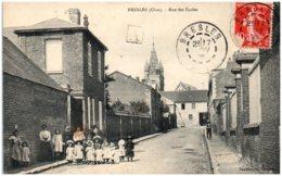 60 BRESLES - Rue Des écoles - Other Municipalities