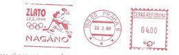 1998 EMA L'Equipe Tchèque De Hockey Sur Glace Médaille D'Or Aux Jeux Olympiques D'Hiver De Nagano - Hockey (su Ghiaccio)