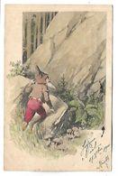 NAIN - Illustration - Carte Voyagée En 1900 - Non Classés