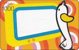 Thailand  Phonecard Orange - Thai Cartoon  1000 Baht RR - Thailand