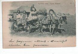 Rusland Russie - Types Russes - Pycckie Tnibi - 1900 - Russie