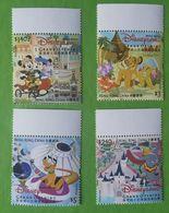HONG KONG 2005 DISNEYLAND - Unused Stamps
