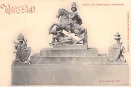 Warschau - Pomnik Jana Sobikiego W Lazienkach - Polen