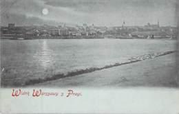 Warschau - Flußpanorama - Polen