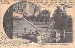 Warschau - Amfiteatr W Lazienkach 1901 AKS - Pologne
