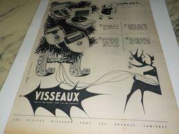 ANCIENNE  PUBLICITE  CADEAUX  VISSEAUX 1955 - Reclame