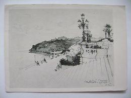 Czech Artist / Architect Emil Kralik - Monte Carlo In The Year 1932 - Posted 1950 - Non Classés