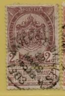 MW-4958  ANVERS-BRUXELLES 4     OCB 55   2XU+S    COBA 40 - Postmark Collection