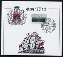 Allemagne Fédérale - Germany - Deutschland CM 1981 Y&T N°930 - Michel N°1107 - 60p Souveraineté Du Peuple - Gedenkblatt - BRD