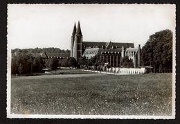 Photo 14,5 Cm X 9,5 Cm - 1934 - Abbaye De Maredsous - 2 Scans - Anhée