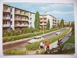 Poland: Lublin - Osiedle Mieszkaniowe Przy Ulicy Grazyny - Housing Estate, Old Car - Ca 1960s Unused - Polen