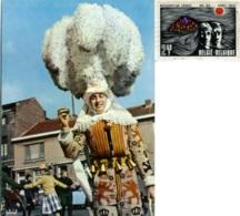 BINCHE  HAINAUT  Carnaval De Binche  Gille En Grande Tenue - Binche